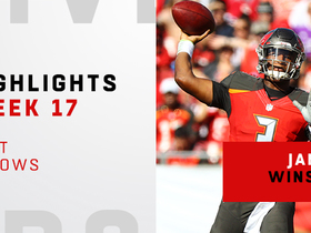 Best throws from Jameis Winston's 345-yard, 4 TD game | Week 17