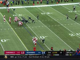 Seahawks swarm Cooper to flip the field after Dickson's line-drive punt