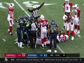 Seahawks' third-down blitz pays off in big way with strip-sack