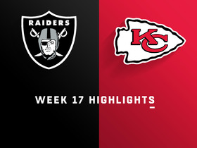 Raiders vs. Chiefs highlights | Week 17
