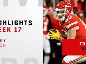 Every Travis Kelce catch from TE record breaking day | Week 17