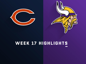 Bears vs. Vikings highlights | Week 17