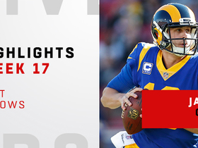 Best throws from Jared Goff's 4 TD game | Week 17