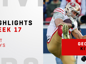 Best plays from George Kittle's record-setting day   Week 17