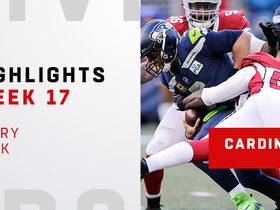 Every one of the Cardinals' 6 sacks vs. the Seahawks | Week 17
