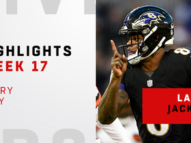 Every WOW play from Lamar Jackson | Week 17