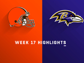 Browns vs. Ravens highlights | Week 17