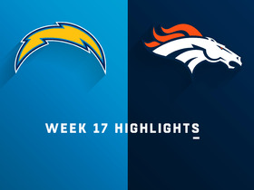 Chargers vs. Broncos highlights | Week 17