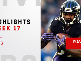 Best runs from Ravens' 296-yard rushing day | Week 17