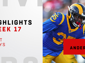 Best plays from C.J. Anderson's 154-yard day | Week 17