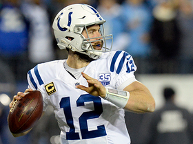 Andrew Luck shows touch on 29-yard loft pass to Inman