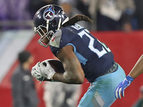 Titans convert on third down for first time with pass to Henry
