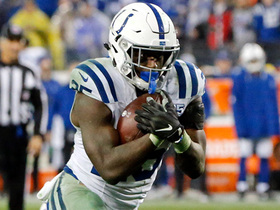 Marlon Mack goes untouched for 8-yard TD