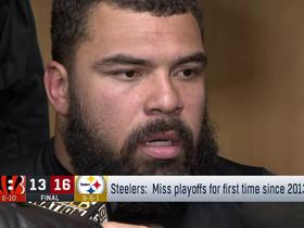 Cam Heyward on Steelers missing playoffs: 'It's going to be a long offseason'