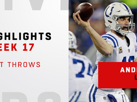 Best throws from Andrew Luck's 3-TD game | Week 17