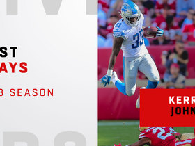 Best plays from Kerryon Johnson's rookie year | 2018 season