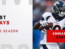 Emmanuel Sanders' best plays | 2018 season