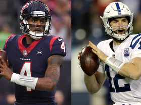 Which QB would you rather have in Wild Card Weekend: Luck or Watson?