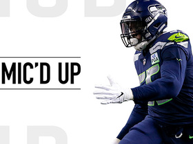 Mic'd Up: Frank Clark brings pass rush presence vs. Cardinals | Week 17