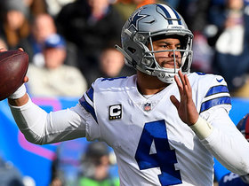 Dak Prescott overthrows Amari Cooper on a couple potential big plays