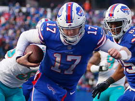 Josh Allen runs all over the Dolphins