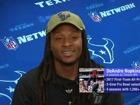 Hopkins: Mistake-free football is key to wild-card win vs. Colts