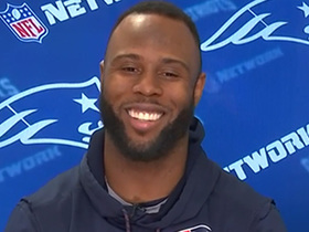 James White discusses his 'Sweet Feet' nickname