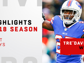 Tre'Davious White's best plays | 2018 season