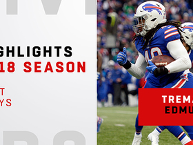 Best plays from Tremaine Edmunds' rookie year | 2018 season