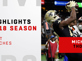 Michael Thomas' best catches | 2018 Regular Season