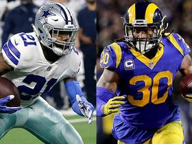 Is it tougher to gameplan for Zeke or Gurley?