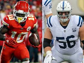 Is Tyreek Hill or Quenton Nelson the scarier offensive player?