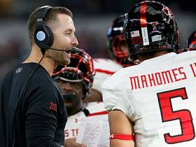 Kingsbury: Expecting Mahomes to 'play his best football' in postseason