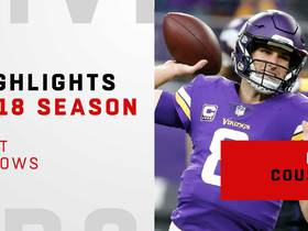 Kirk Cousins' best throws | 2018 season