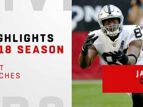 Jared Cook's best catches | 2018 season