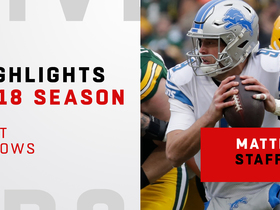Matthew Stafford's best throws | 2018 season