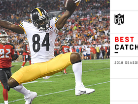 Antonio Brown's best catches | 2018 season