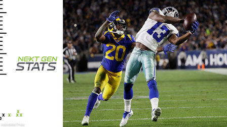 Next Gen Stats: 3 Improbable Catches | Divisional Round