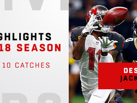 DeSean Jackson's best catches | 2018 season