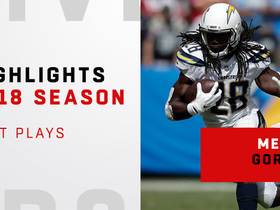 Melvin Gordon's best plays | 2018 season