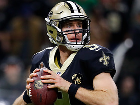 Game Theory: Championship Sunday projections for Drew Brees