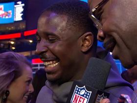 Sony Michel on what he'll say to Todd Gurley after SB: 'Let me get that jersey'