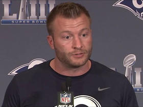 McVay on Gurley: 'He's gonna be a big part' of Super Bowl LIII