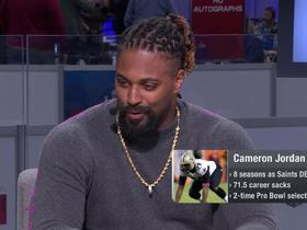 Cam Jordan on Patriots-Rams: 'I'm just negating this whole Super Bowl'