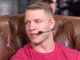 Christian McCaffrey on 2018 success: I grew a lot