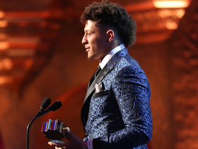 See Mahomes' speech for 2018 Offensive Player of the Year
