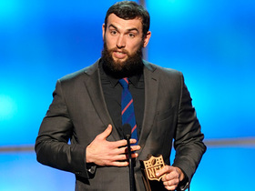Andrew Luck thanks everyone 'who helped him along the way' during Comeback Player of the Year acceptance speech
