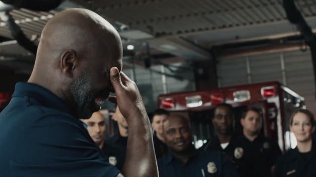 Anthony Lynn meets the first responders who saved his life
