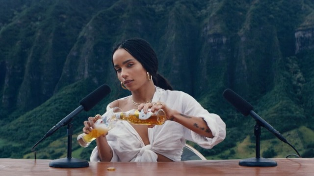 Zoe Kravitz delivers 'The Pure Experience' for Michelob Ultra