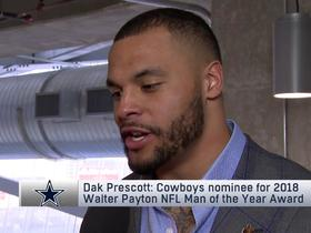 Dak on how Brady gets SBLIII win: 'He's gotta get the ball out quick'
